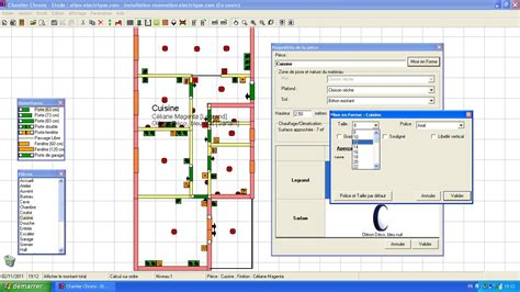 logiciel plan electrique maison