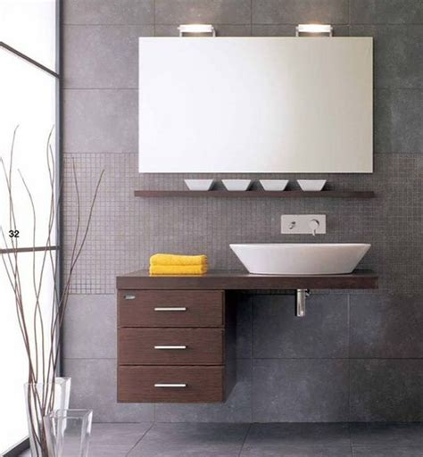 small floating sink cabinet design small bathroom