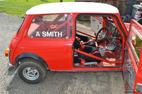 classic mini rally car road fast high spec