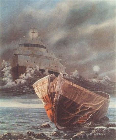 the edmund fitzgerald mute testimony by demroske also the soulful story telling song