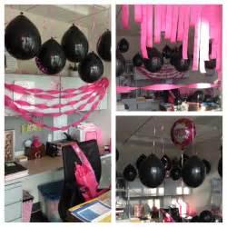 ideas f 225 ciles para decorar cumplea 241 os en rosa y negro manualidades para cumplea 241 os
