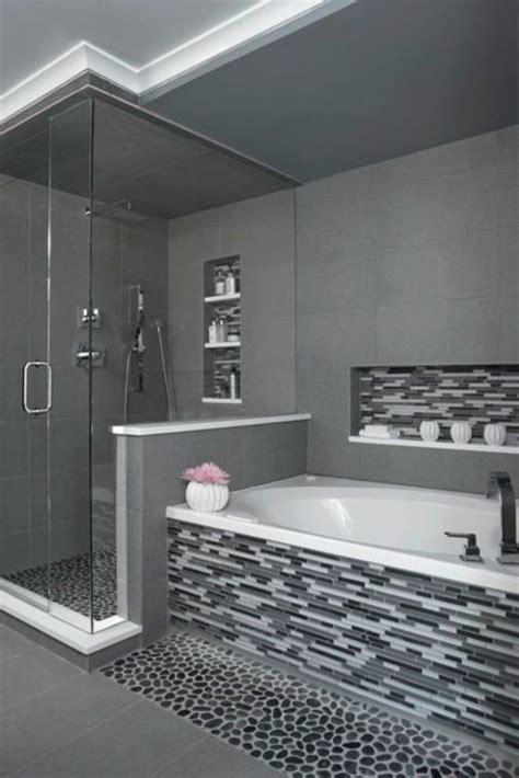 une salle de bains grise 233 l 233 gance et chic contemporain archzine fr