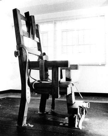 electric chair ted bundy