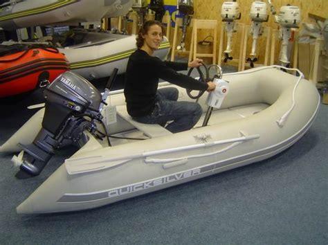 2e Hands Zodiac zodiac 310 s rubberboot met stuurset en 6pk yamaha 4takt