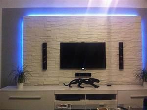 Tv An Wand Anbringen : nauhuricom tv wand selber bauen laminat neuesten ~ Markanthonyermac.com Haus und Dekorationen
