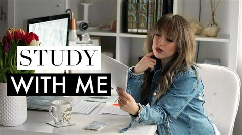 Study With Me #2 ♡ Real Time Motivational Study Session (law & Philosophy Student) Youtube