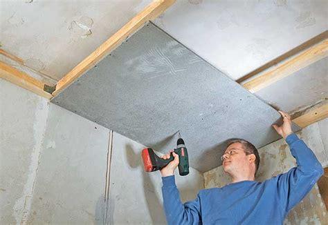 Badumbau Decke Aus Zementbauplatten  Umbau & Sanierung