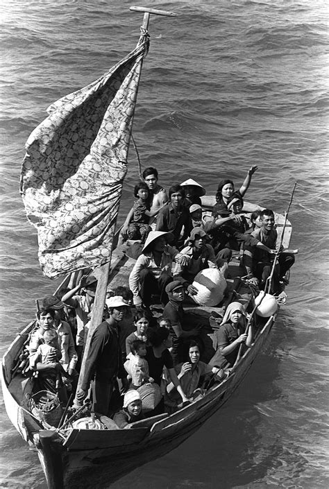 People On A Boat by Vietnamese Boat People Wikipedia