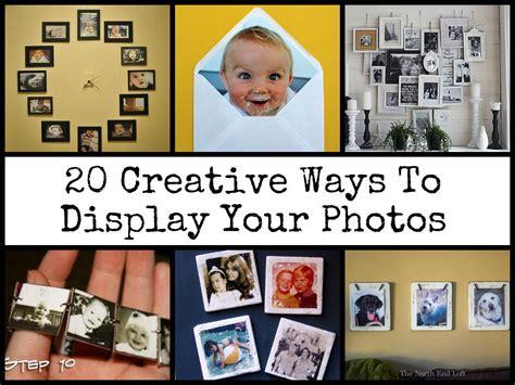 20 Creative Ways To Display Your Photos