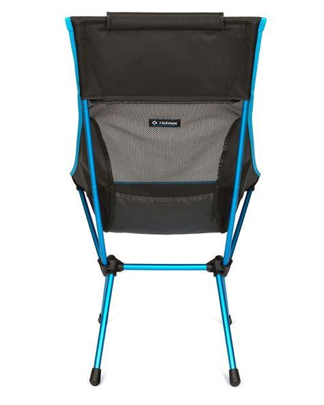 helinox sunset chair black