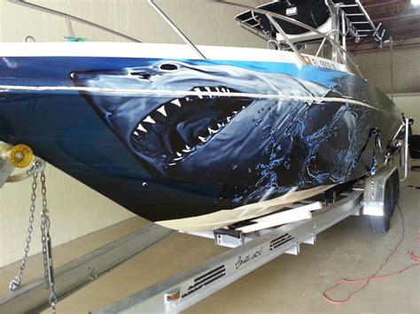 Custom Fishing Boat Graphics by Custom Boat Wrap Vehicle Wraps 1
