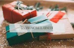 Geschenke Schön Verpacken Tipps : geschenke nachhaltig verpacken 11 tolle tipps ecomonkey ecomonkey ~ Markanthonyermac.com Haus und Dekorationen