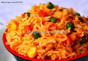 Mye's KitchenMexican Rice