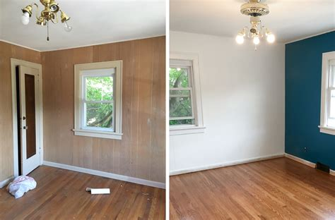 How To Paint Wood Paneling  Curated Couple