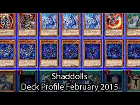 shaddolls yugioh deck profile february 2015