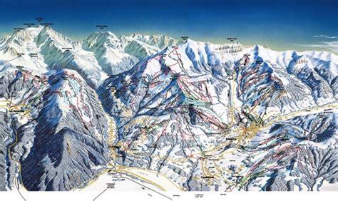 plan des pistes gervais mont blanc