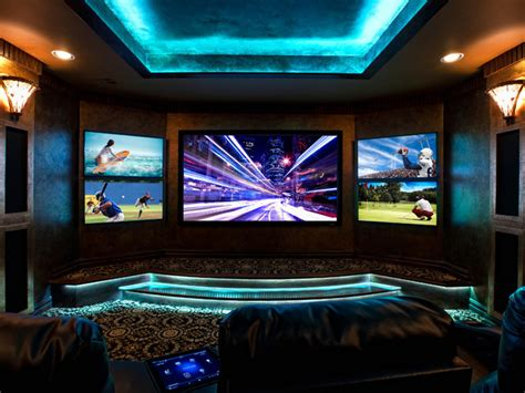 Multi-screen Is A Hot Trend In Home Theatre