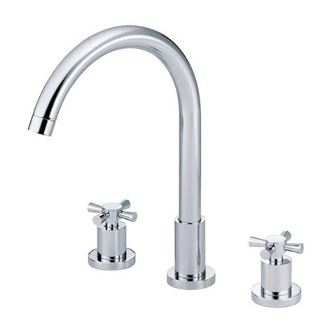 danze d304059 parma widespread lavatory faucet with cross handle and touch drain