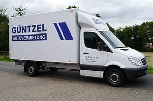 Sprinter Mieten Münster : guentzel autovermietung m nster transporter lkw anh nger mieten ~ Markanthonyermac.com Haus und Dekorationen