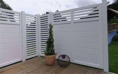 Designsichtschutz Auf Terrasse