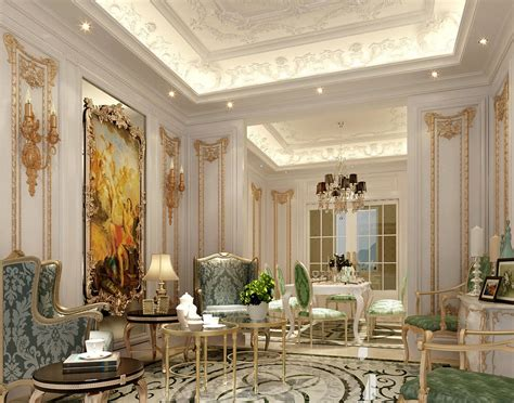 Classic French Luxury Interior Design