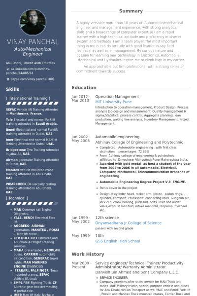 Boatswain Job Description by Technical Trainer Resume Sle