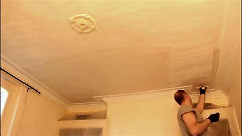 renover un plafond en placo