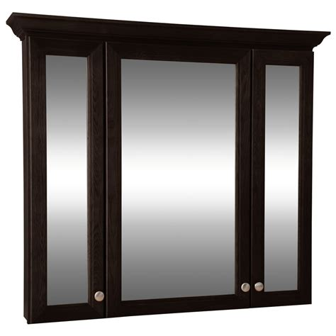 style selections northrup 42 in espresso wall cabinet