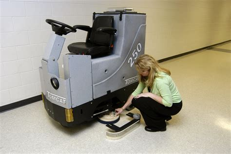 floor scrubber dryer gtx rider commercial floor cleaning