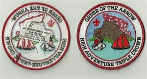 Rare Order of the Arrow High Adventure Triple Crown Patch ...