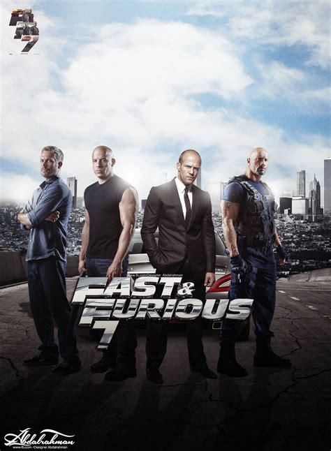 Fast And Furious 7 By Designerabdalrahman On Deviantart