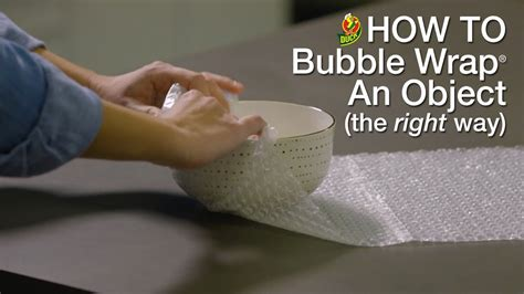 How To Pack With Bubble Wrap® Youtube