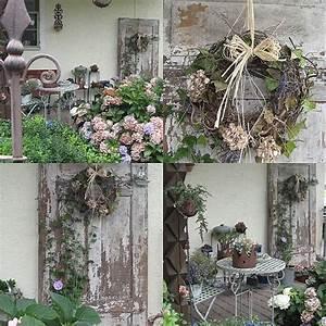 Lea Wohnen Und Dekorieren : alte t r wohnen und garten foto herbstdeko pinterest tuin dekoration und garten ~ Markanthonyermac.com Haus und Dekorationen