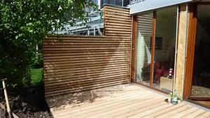 Sichtschutzzaun Bambus Holz : sichtschutz holz fur terrasse ~ Markanthonyermac.com Haus und Dekorationen