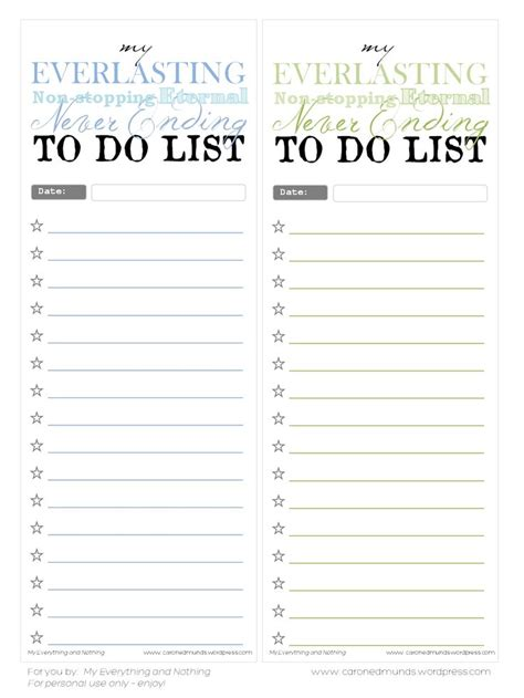 To Do List Template Printable Pinterest by Free Printable To Do Lists Printables Templates