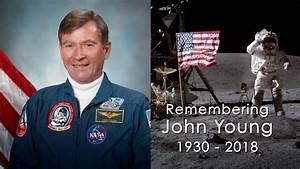 NASA Remembers Moonwalker, Shuttle Commander John Young ...