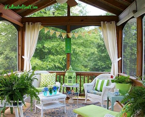 screened porch decorating ideas outdoor spaces
