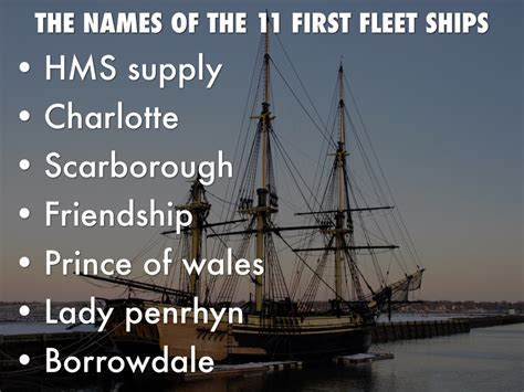 Boat Names Of The First Fleet by Copy Of First Fleet By Aezair