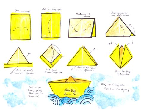 How To Make Paper Boat Download by Paper Boat Instructions Useful Buzz