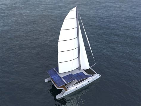 Catamaran Electric Engine by Solarwave Sailor 64 A Electric Propulsion Sailing Yacht