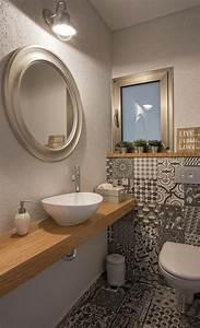 Bilder Schmal Und Lang : g ste wc gestalten 16 sch ne ideen f r ein kleines bad ~ Markanthonyermac.com Haus und Dekorationen