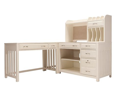 beacon 4 pc home office set office desks raymour and flanigan furniture