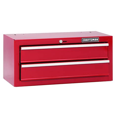 craftsman 26 quot in wide 2 drawer bearing chest tool box storage 113844 ebay