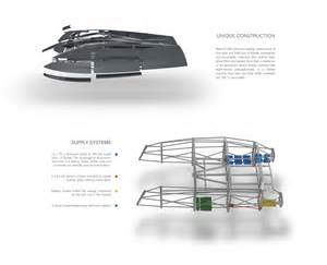 Catamaran Design Features by Zero Sail Concept Sailing Catamaran Features Modern Racing