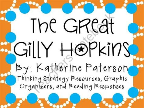 18 Best Images About The Great Gilly Hopkins On Pinterest