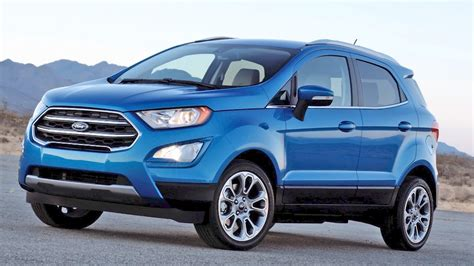 Allnew 2018 Ford Ecosport Finally Sign In United States