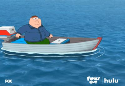 Peter Griffin Boat by Throw It Away Gifs Find Share On Giphy
