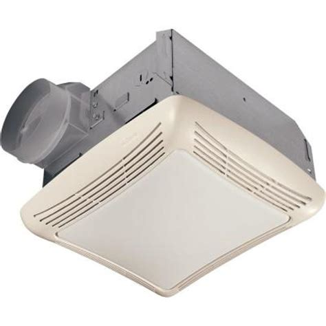 nutone 50 cfm ceiling exhaust bath fan with light 763rln the home depot