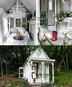 Gartenhaus Shabby Chic : gorgeous little cottage architectural delights pinterest haus gartenhaus und garten ~ Markanthonyermac.com Haus und Dekorationen