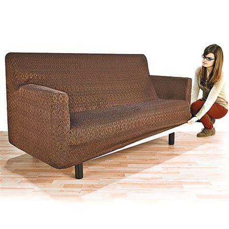 sedao vente mobilier rangement housse adaptable canap 201 2 places chocolat
